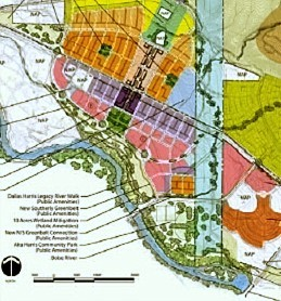 harris ranch site plan