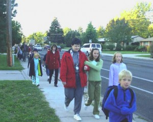 walk to school