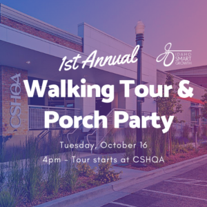 Walking Tour & Porch Party