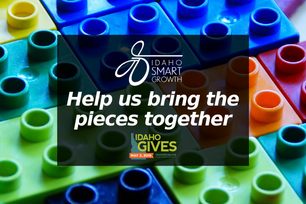 Help us bring the pieces together during Idaho gives