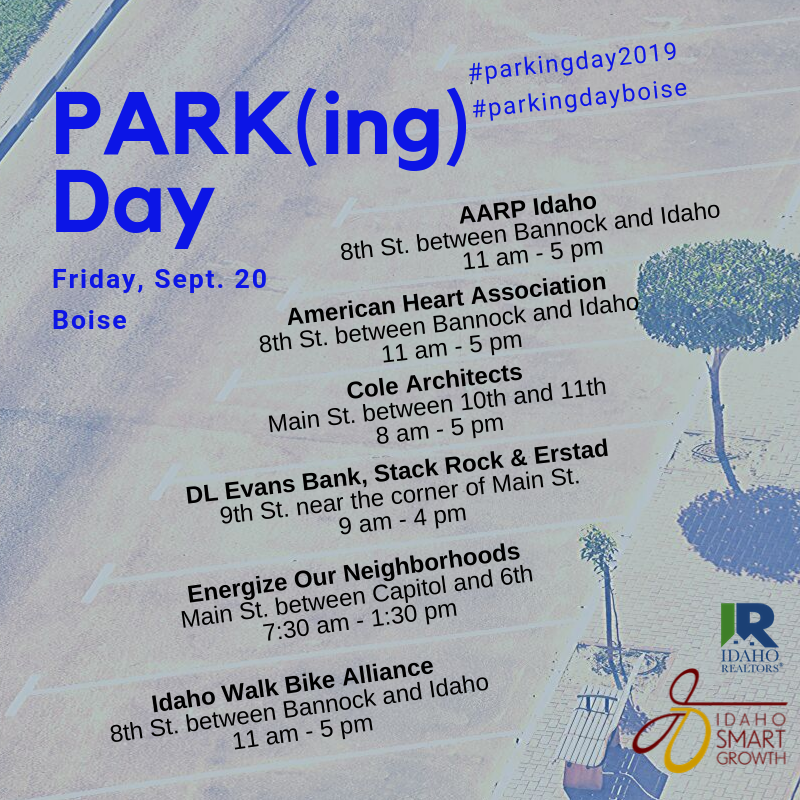 Parking-Day-2019 locations and times