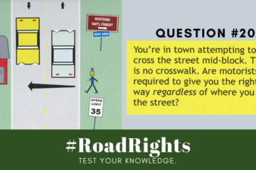 Road Rights Question 20