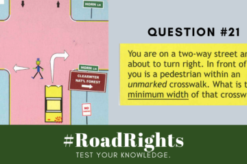 Road Rights Question 21