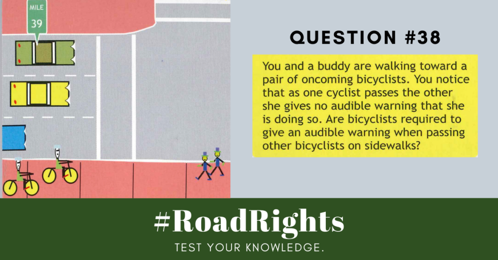 Road Rights Question 38