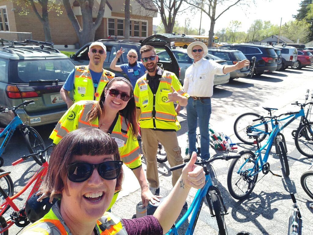 Bike Rodeo with Treasure Valley Safe Routes