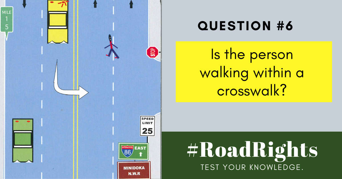 Road Rights Question 6