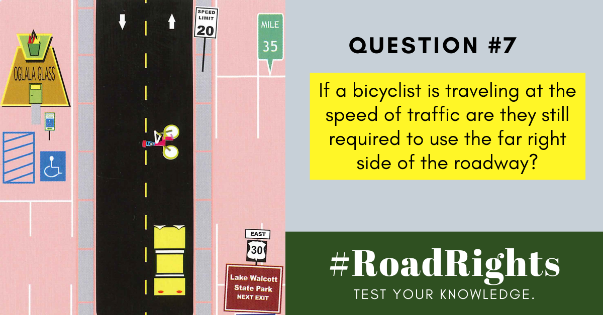Road Rights Question #7