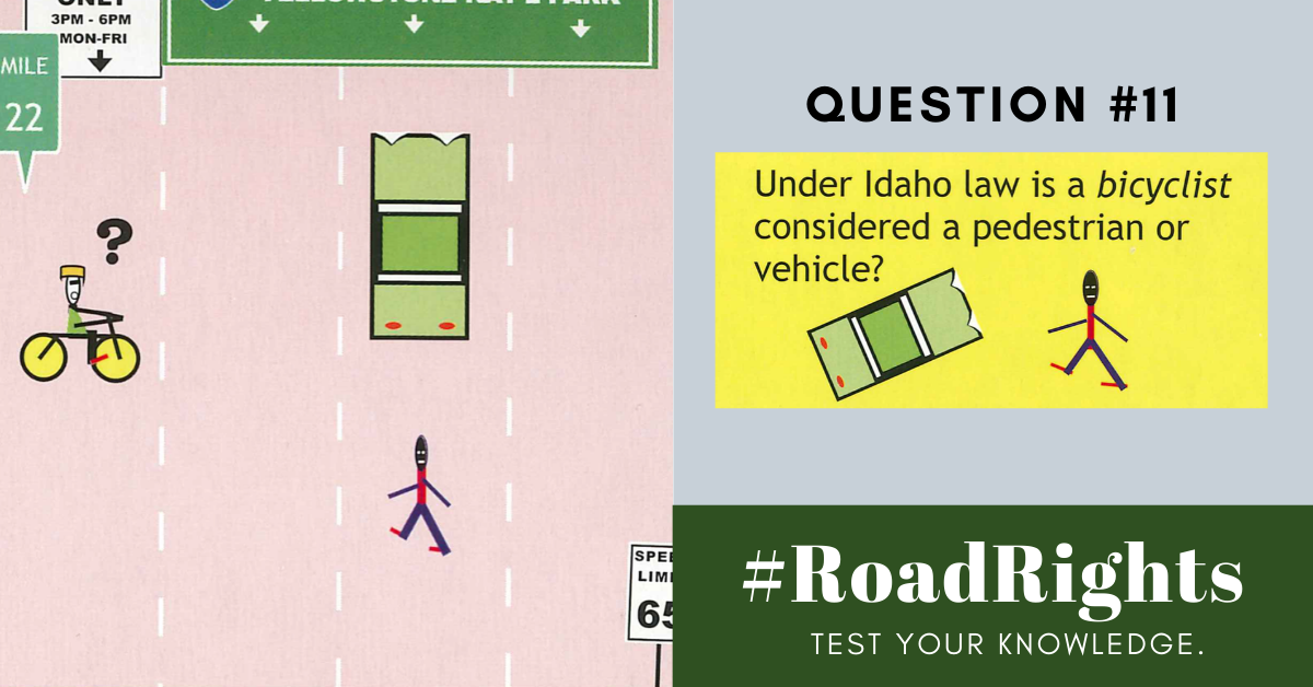 Road Rights Question 11