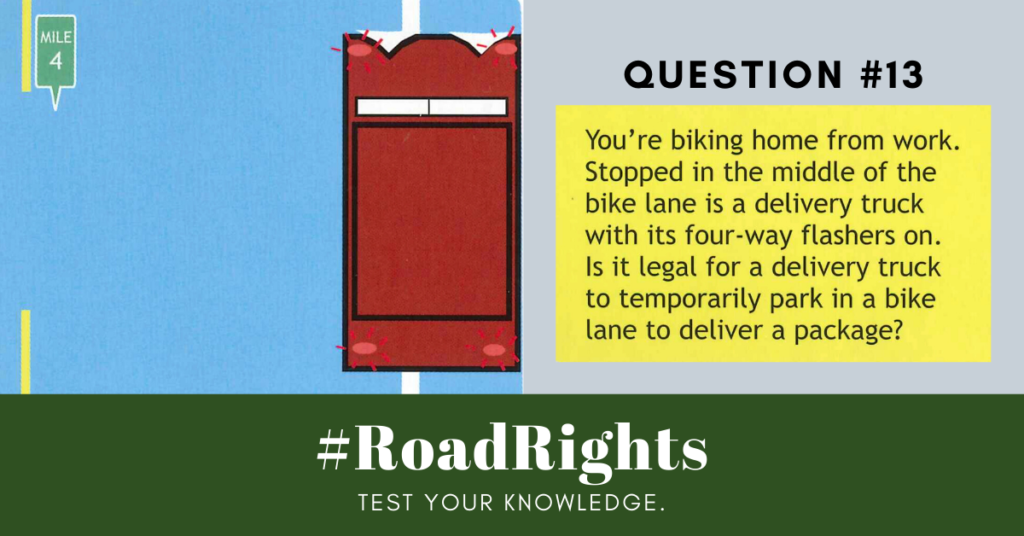Road Rights Question 13