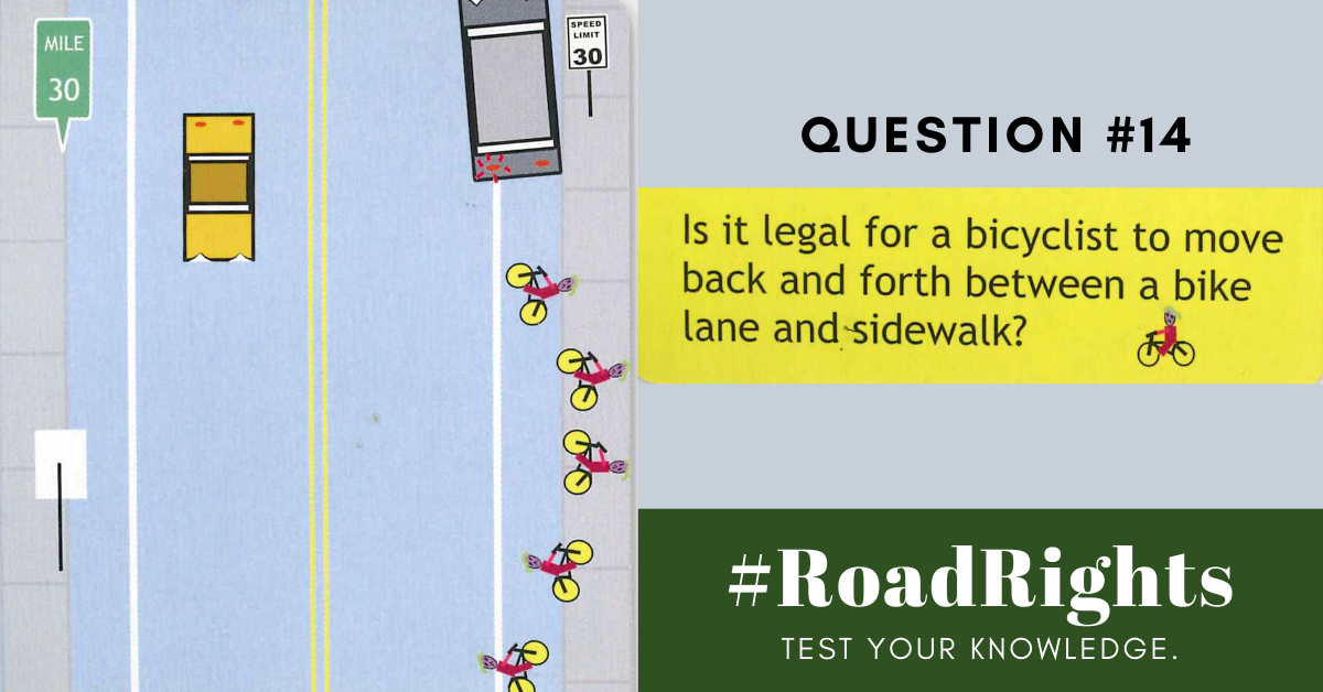 Road Rights Question 14