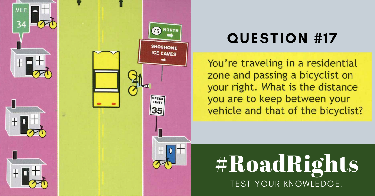 Road Rights Question 17