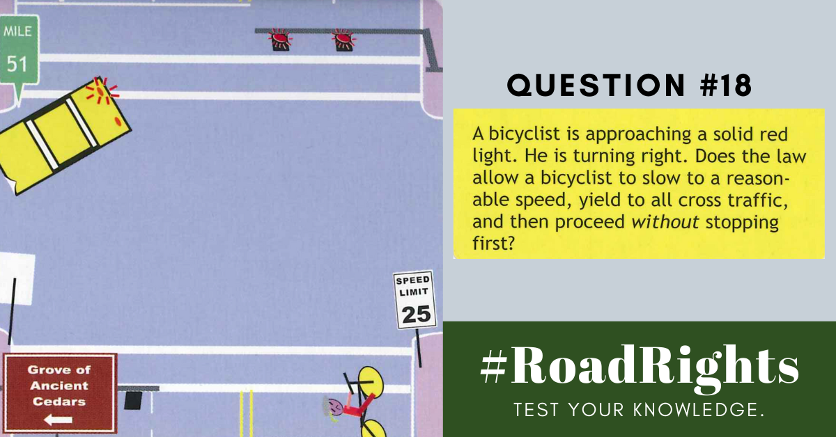 Road Rights Question 18