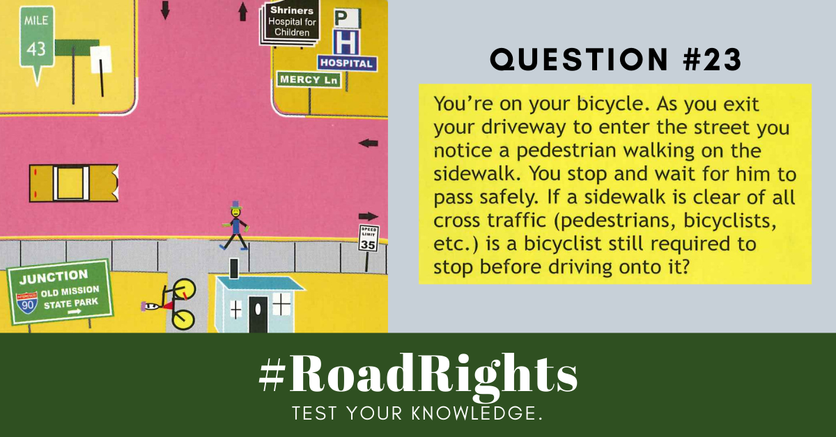 Road Rights Question 23