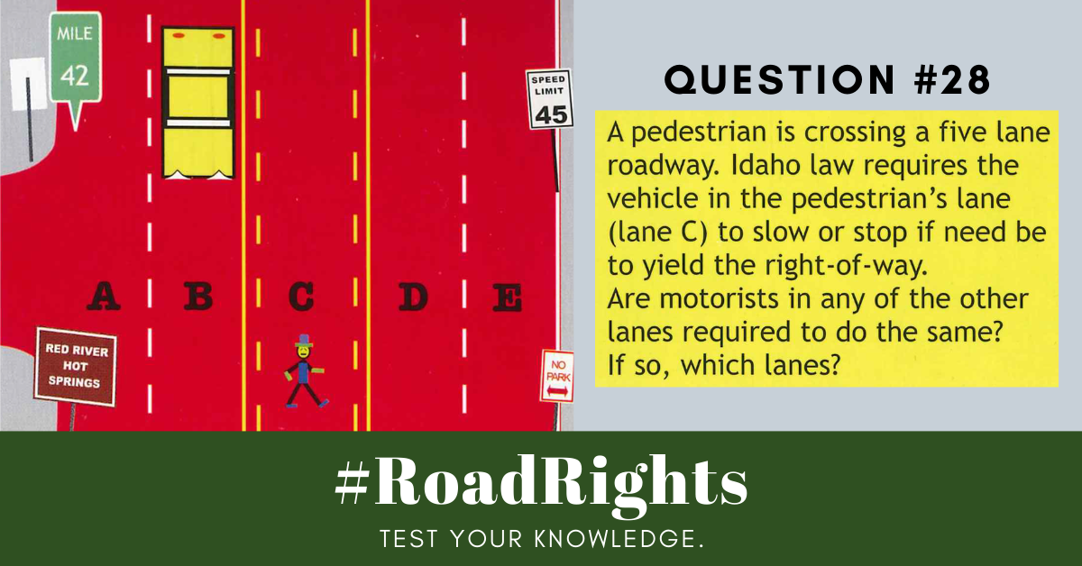 Road Rights Question 28
