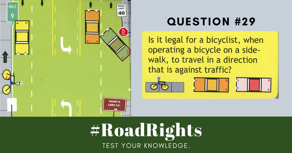Road Rights Question 29