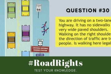 Road Rights Question 30