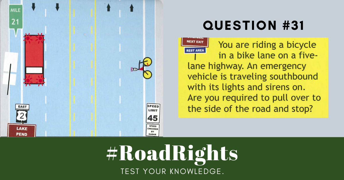 Road Rights Question 31
