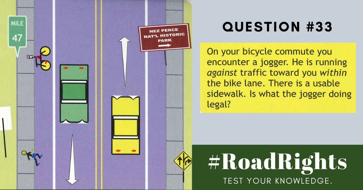 Road Rights Question 33