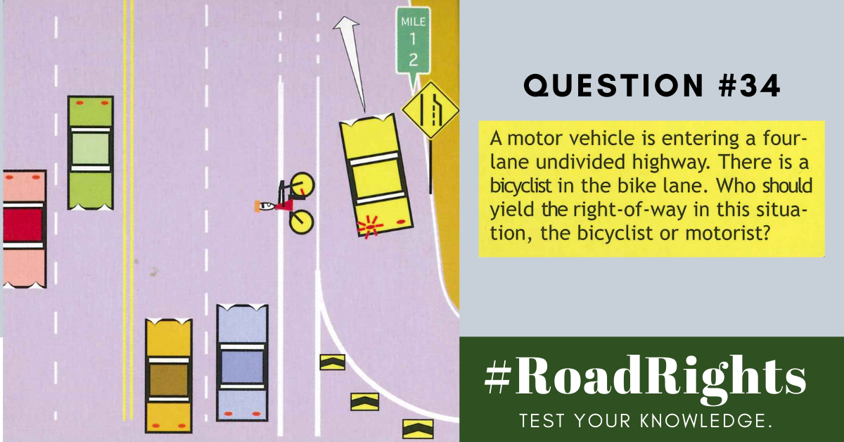 Road Rights Question 34