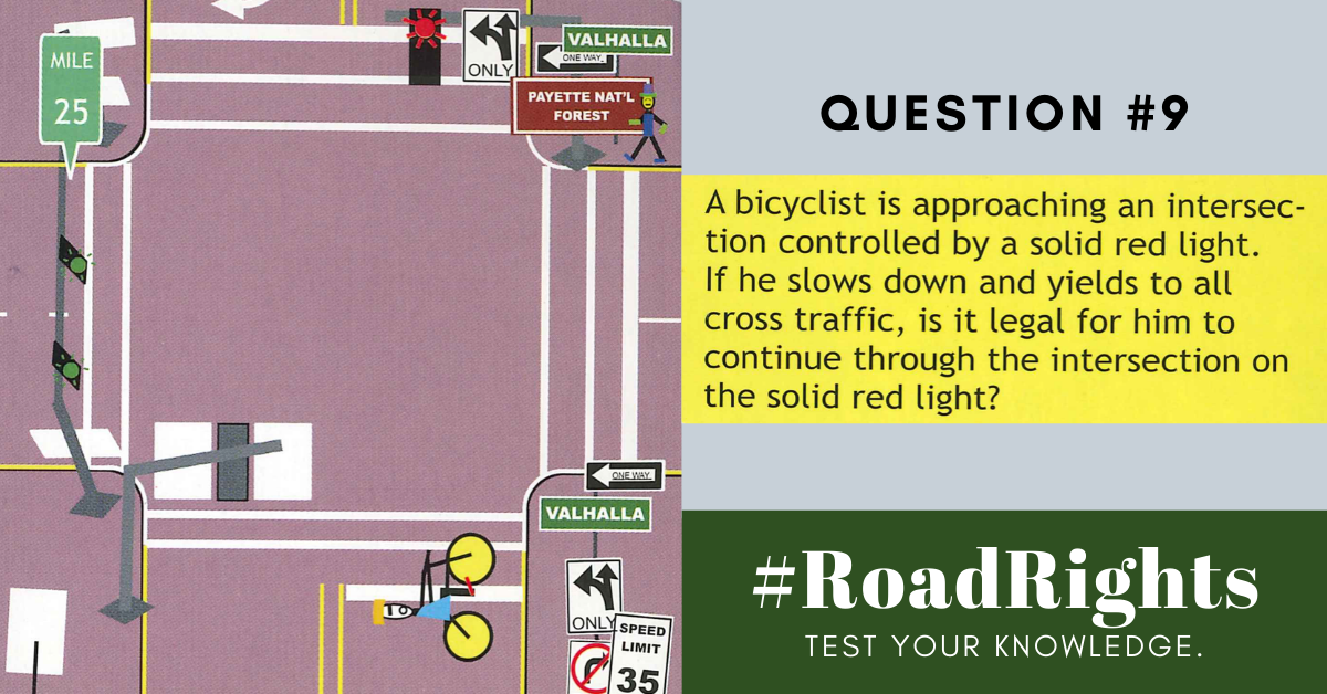 Road Rights Question 9